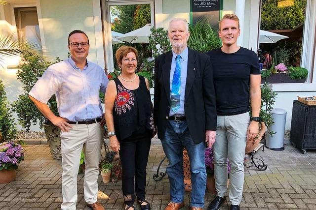 Elisabeth Gerspach steht an der Spitze des Lions-Clubs