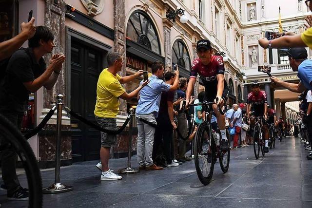 Die Tour de France passiert Waldkirchs Partnerstadt Sélestat