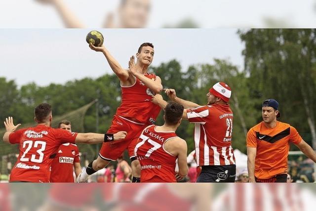Honk und 500 Handballer haben Spaß