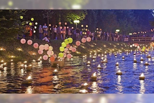 Bad Krozingen feiert das Lichterfest