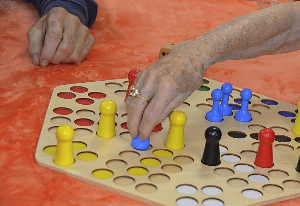 Mensch ärgere Dich nicht erfreut sich ...legeeinrichtung (Foto) gerne gespielt.  | Foto: Christiane Sahli