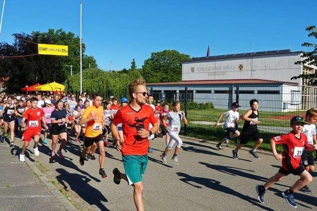 463 Schüler nehmen an Laufveranstaltung Ihringer Hock-Jogg teil