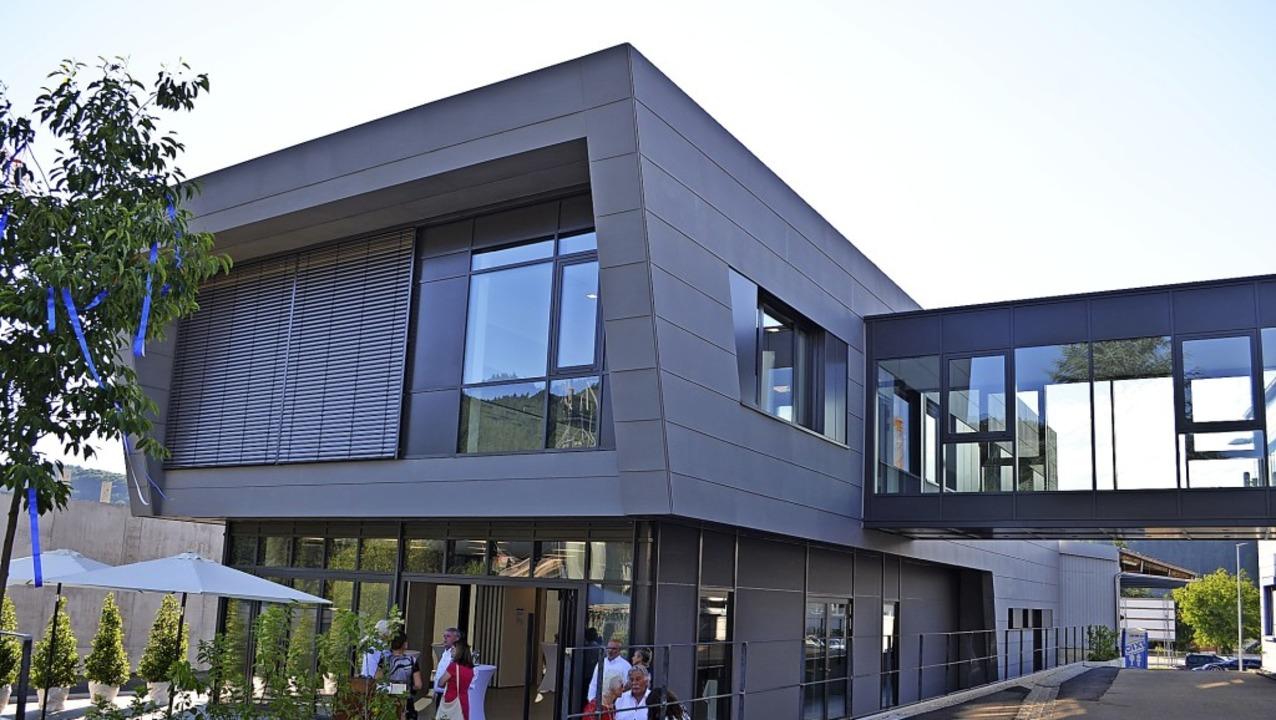 Das neue Bürogebäude der Werner Gießler GmbH.   | Foto: Nikolaus Bayer