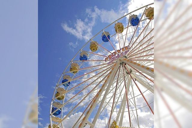 Riesenrad zum großen Fest