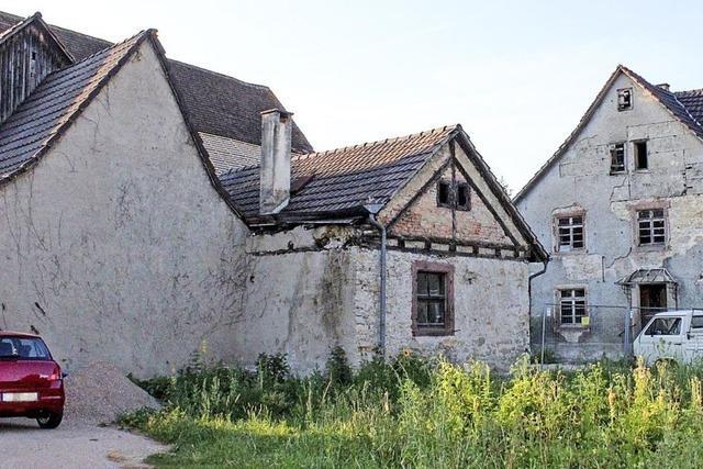 Das alte Backhaus soll jetzt zum Wohnhaus werden
