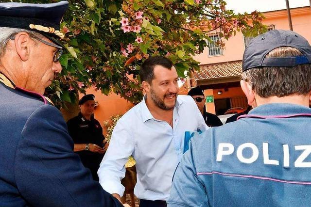 In Italien betreibt Salvini eine Politik der Sündenböcke
