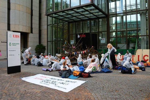 Klima-Aktivisten in Basel werden freigelassen