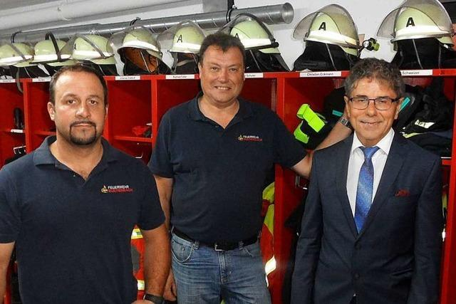 Umbauarbeiten am Feuerwehrgerätehaus in Buchenbach sind abgeschlossen