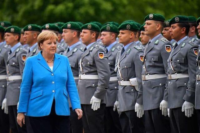 Merkel erleidet dritten Zitteranfall innerhalb weniger Wochen