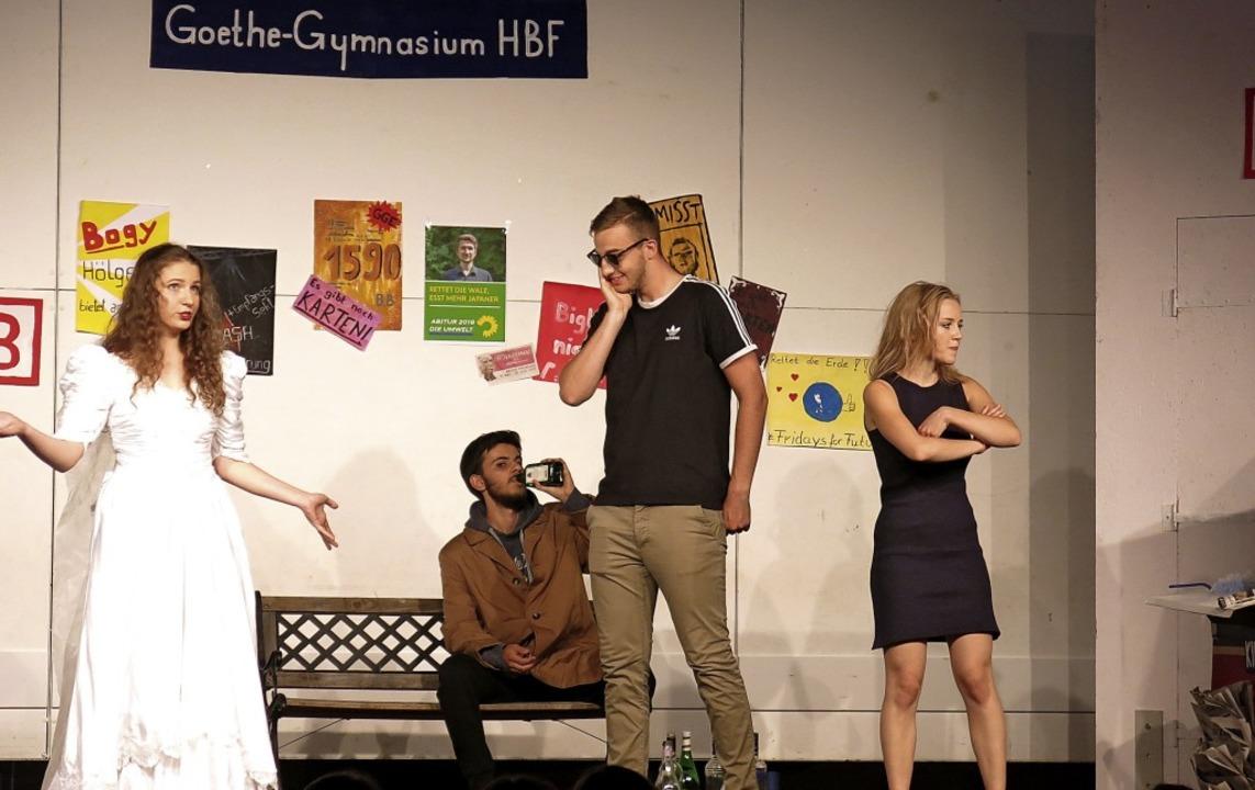 Das pulsierende Leben am Goethe-Gymnasium HBF  | Foto: Georg Voß