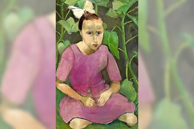 Kinderporträts der Offenburger Malerin Gretel Haas-Gerber