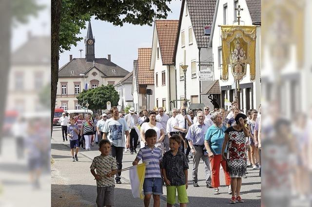 Prozession für Sankt Ulrich