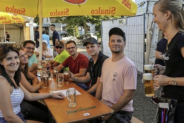 Musikverein will an vier Tagen Bockbierfest festhalten