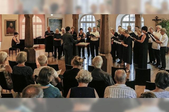 Kammerchor Emmendingen zu Gast in Ettenheim