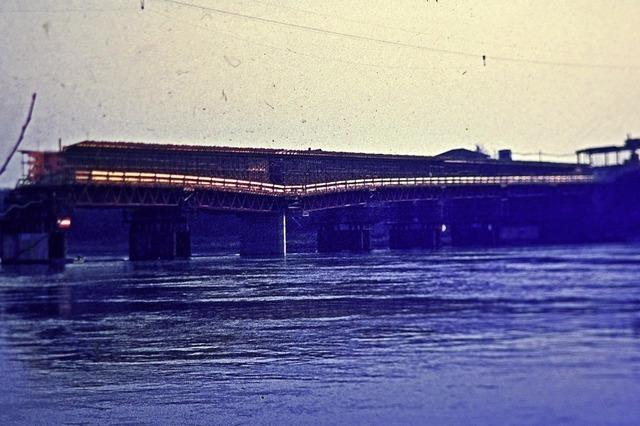 Rheinbrücke wird 2020 nach 41 Jahren saniert