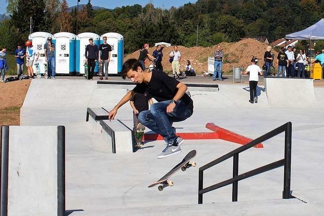 Sommerfest am Skateplatz in Schopfheim