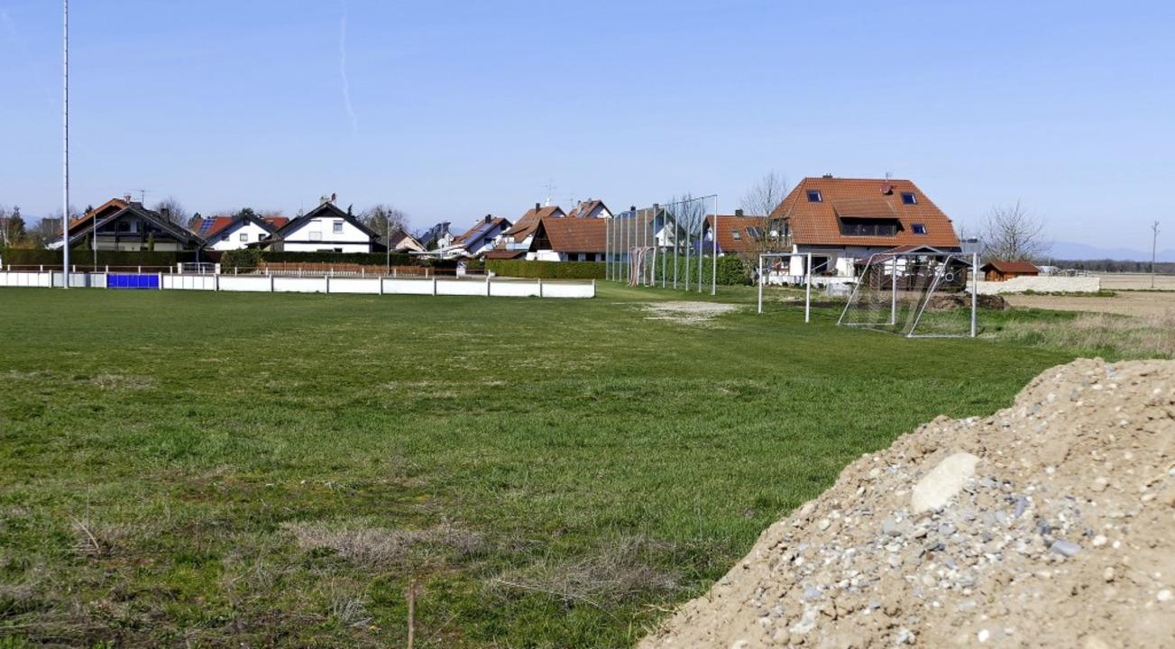 Spätestens in drei Jahren soll aus dem...z des SV Bremgarten Baugebiet werden.   | Foto: Frank Schoch