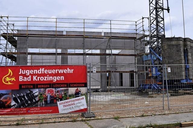 Feuerwehrhaus in Tunsel nimmt Gestalt an