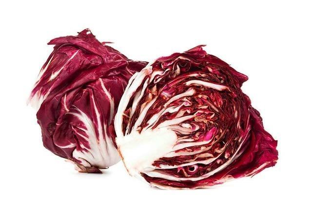Salatgemüse Radicchio enthält wertvollen Bitterstoff