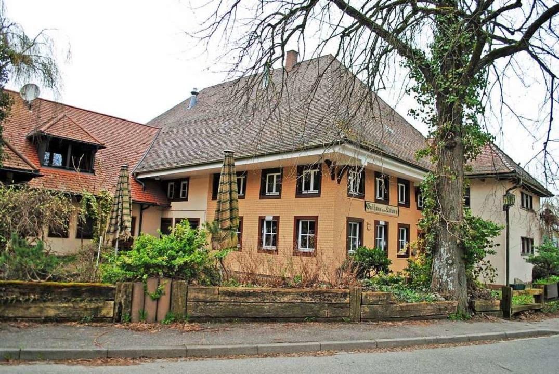 Vom  Traditionsgasthaus Löwen, das vor...einstellte, ist nicht mehr viel übrig.  | Foto: Gerhard Lück