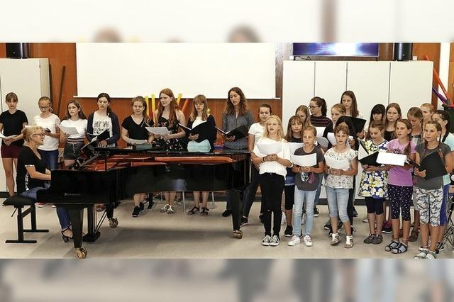 Geschenk beflügelt Musikunterricht