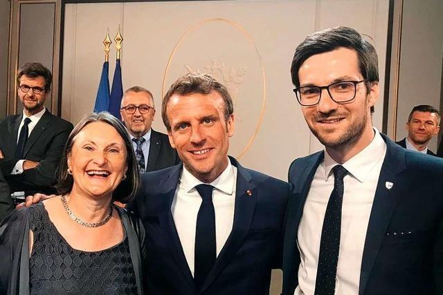 Martin Horn lädt Emmanuel Macron in den Breisgau ein