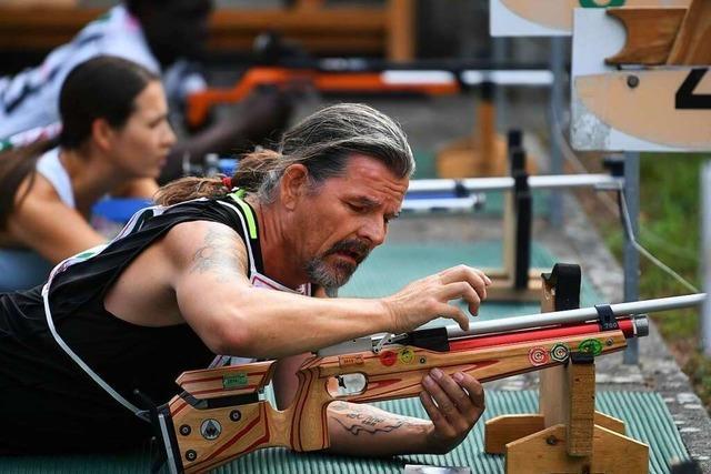 Erst rennen, dann schießen: Sommer-Biathlon beim Schützenverein Kippenheim