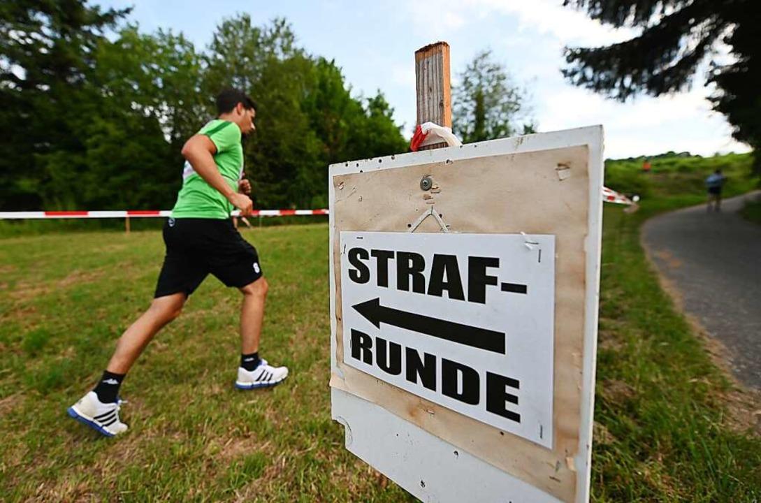 Sommer-Biathlon in Kippenheim  | Foto: Patrick Seeger