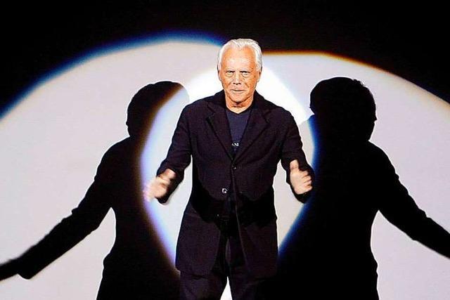 Der unermüdliche Mode-Revolutionär Giorgio Armani wird 85