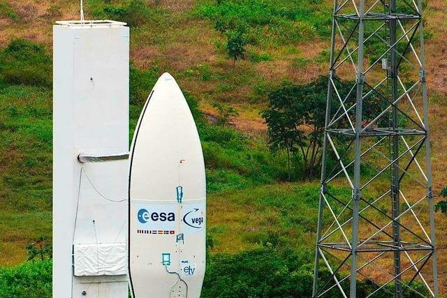 Vega-Rakete stürzt nach Start ab