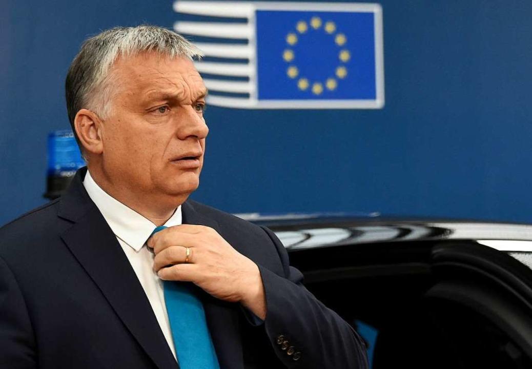 Victor Orban.  | Foto: John Thys (dpa)