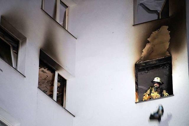 Vergessene Pfanne führt in Döttingen zu Wohnungsbrand
