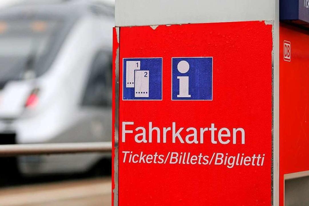 Aufgebrochen wurde ein Fahrkartenautomat am Haltepunkt Norsingen.  | Foto: Jan Woitas