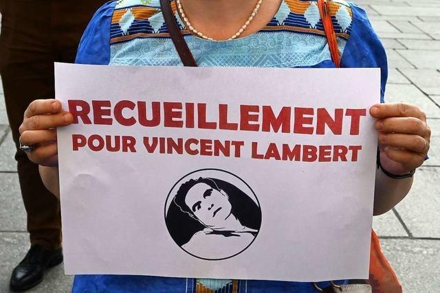 Französischer Koma-Patient Vincent Lambert gestorben