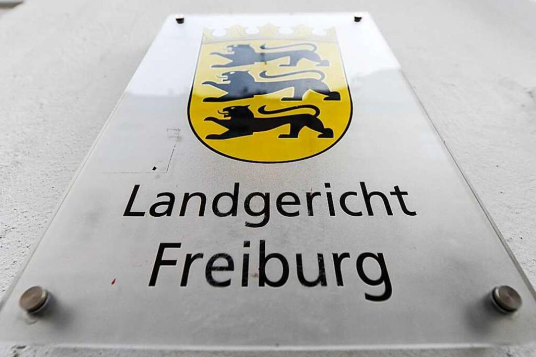 Der Prozess wird vor der Jugendkammer des Landgerichts Freiburg geführt.  | Foto: Patrick Seeger