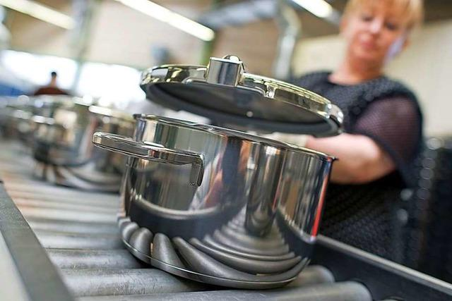 Produktion von WMF-Kochtöpfen in Geislingen an der Steige wird eingestellt