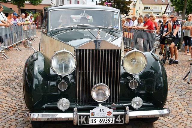 Bei der Oldtimer-Show in Gundelfingen gab es historische Fahrzeuge zu bewundern