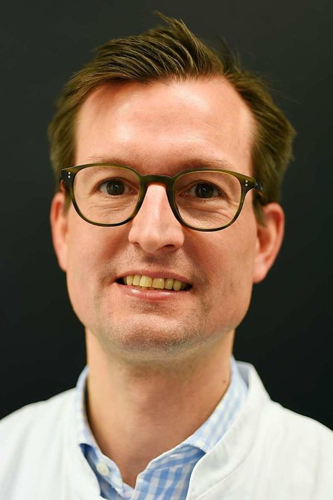 Frank Meiß, Komissarischer Leiter des Hauttumorzentrums der Uniklinik Freiburg    Foto: bz