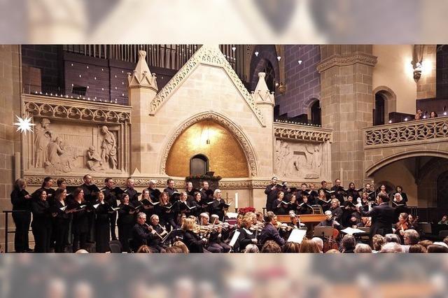 Kammerchor der Christuskirche Karlsruhe zu Gast in Sulzburg