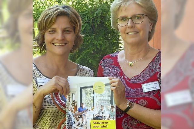 Hilfreiches Heft für Pflegekräfte