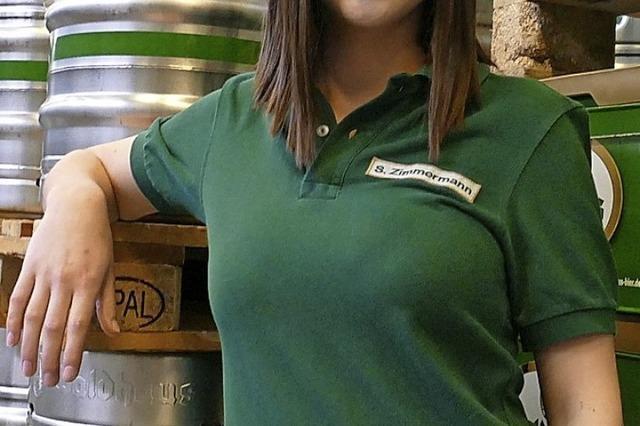 Fassanstich mit Bierprinzessin Sina