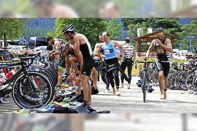 Straßen gehören allein den Sportlern
