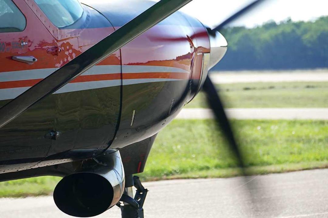 Der Flieger mit neuem Triebwerk  | Foto: Hannes Selz