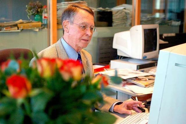 Der ehemalige BZ-Redakteur Reinhard Leßner ist gestorben