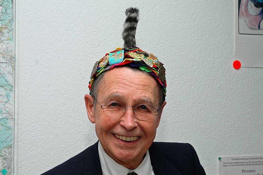 Reinhard Leßner war ein großer Freund der Freiburger Fasnet.  | Foto: Brigitte Sasse