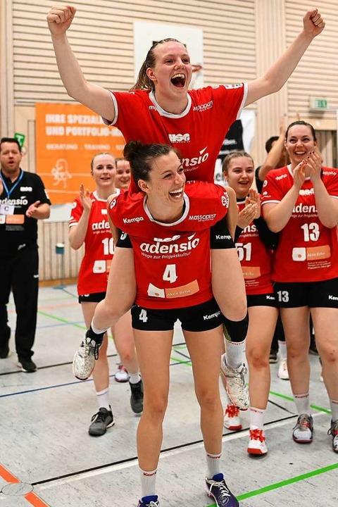 Verlieren  Angelika Makelko (oben) und...nden Saison nicht ihre Aufstiegslaune?  | Foto: Patrick Seeger