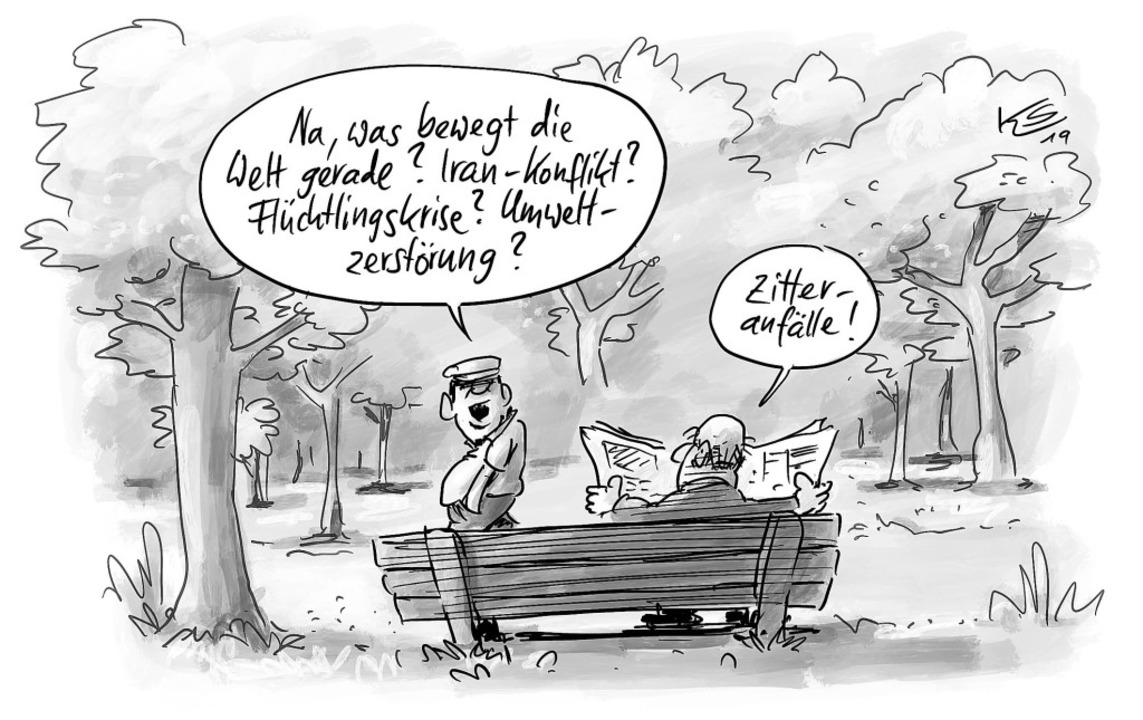 Karikatur  | Foto: Stuttmann