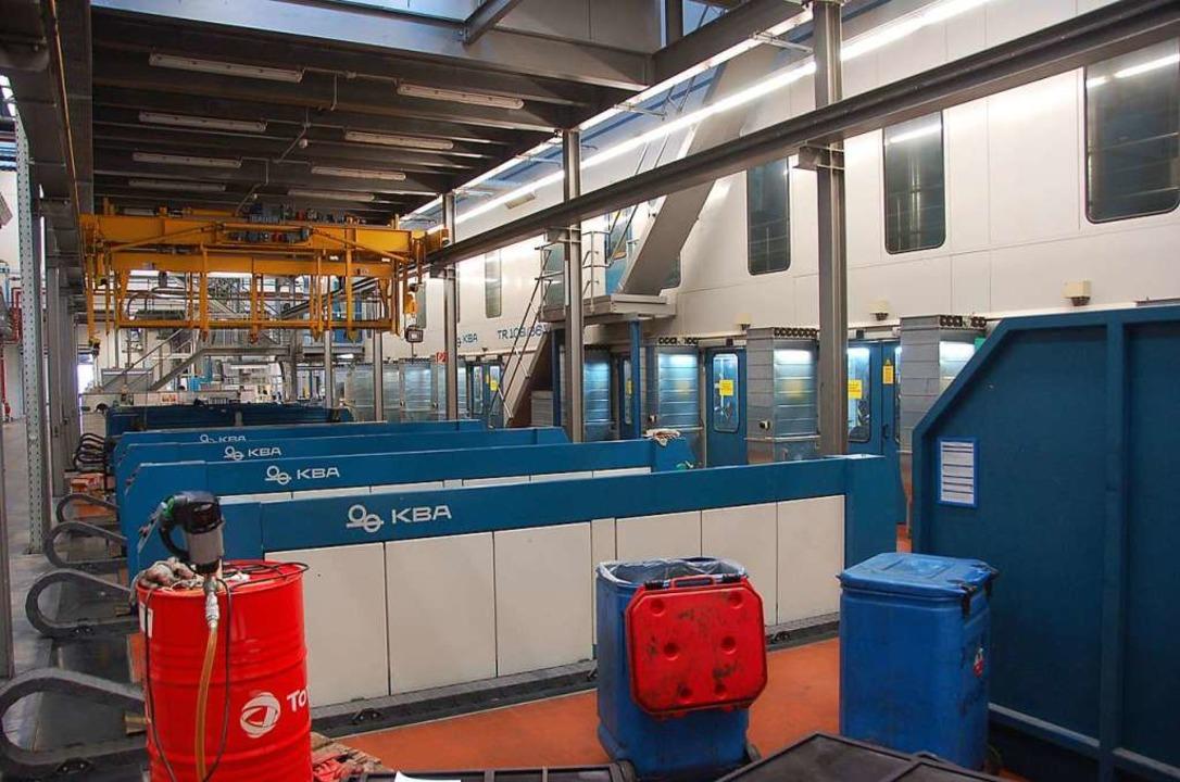 Die ADAC Mitgliederzeitschrift Motorwe...ckzentrum von Burda in Schwung halten.  | Foto: Helmut Seller