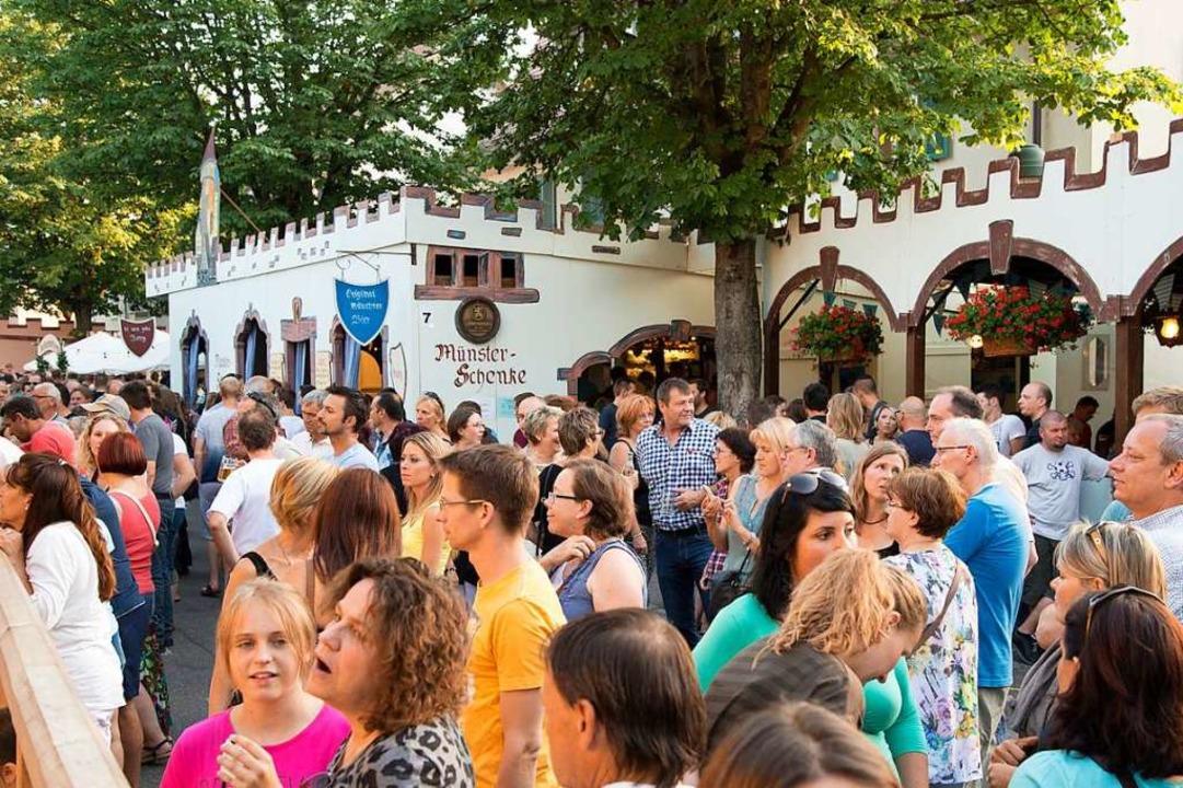 Am Wochenende steigt in Neuenburg wieder das Nepomukfest.  | Foto: Volker Münch