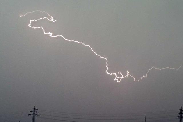 Blitzeinschlag verursacht 50 000 Euro Schaden